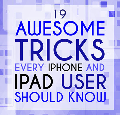 19 iPhone tricks