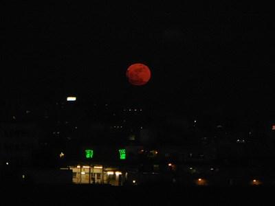 1st 2015 full moon in Tokyo