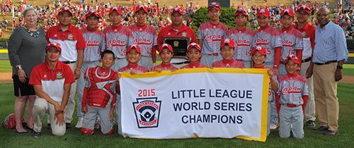 2015 Japan Little League Baseball World Series champs
