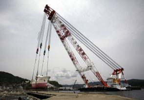 800-ton fishing ship in Kesennuma returned to sea after 2 months