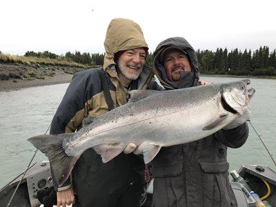 Alaska silver salmon