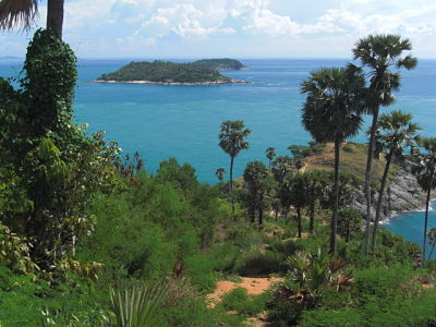 Andaman Sea from Promthep Cape View Point