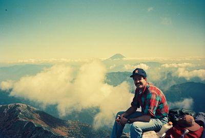 Atop Mt. Kita-dake, Japan's 2nd highest mountain