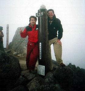 Atop Mt. Utsugi-dake (空木岳)