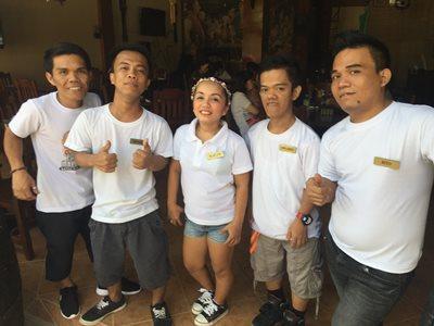 Boracay Hobbit Tavern staff