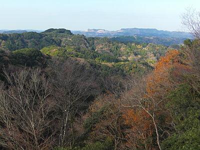 View from Daifukuyama Observatory