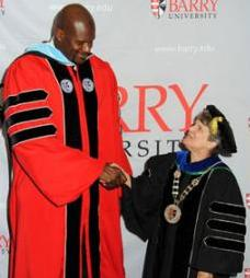 Dr. Shaquille O'Neal