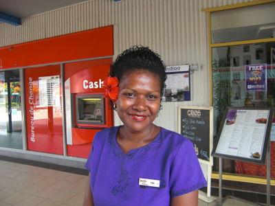 Fijian smile @ Port Denarau Marina