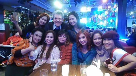 my hearty partying Filipina friends