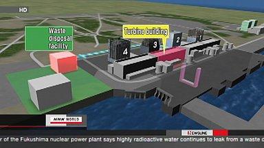 TEPCO may need to plug leak at Fukushima plant