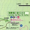 Mt. Fuji Gotemba trail map
