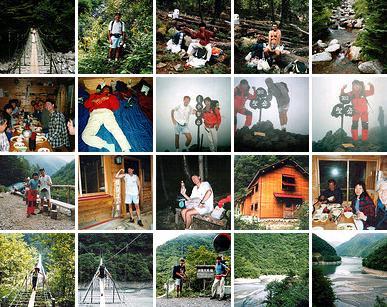 Mt. Hijiri-dake (聖岳) photo collage