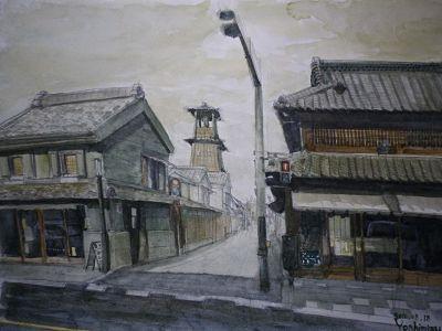 Artwork by Yoshimizu Koike