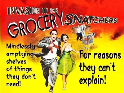 Invasion of the Grocery Snatchers
