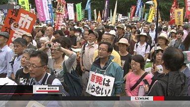 Japan anti-nuclear rally
