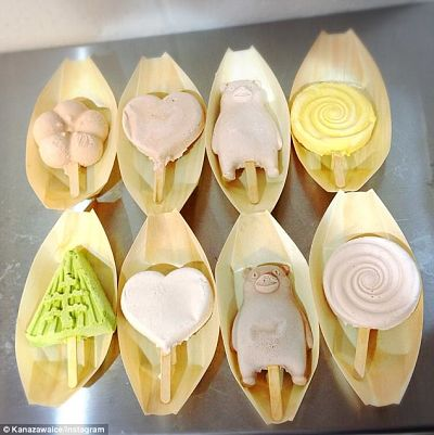 Japanese non-melting ice cream