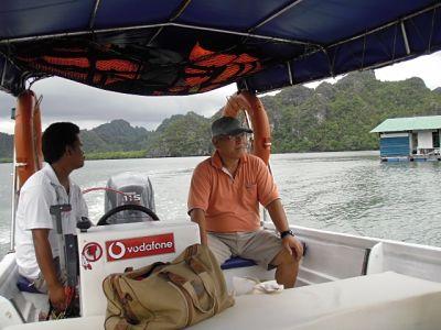 mangrove river cruise operator Kato-san