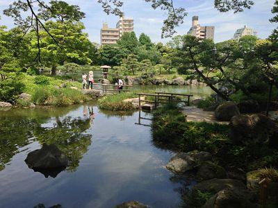 Kiyosumi Garden, Tokyo, Japan