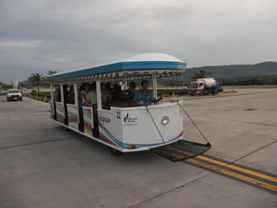Koh Samui airport shuttle