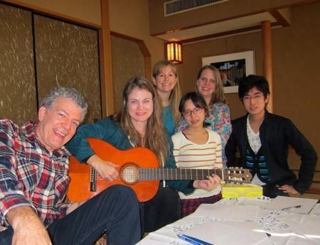Kristin's songwriting workshop
