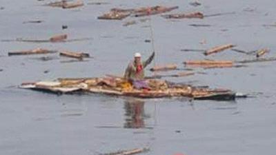 60-yr-old tsunami victim rescued at sea