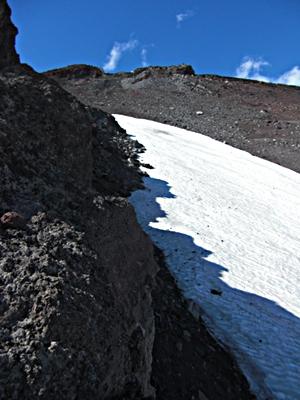 Mannenyuki snowfield
