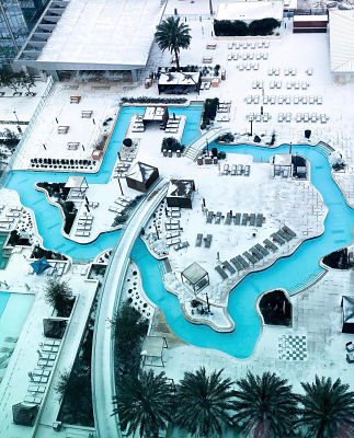 Marriott Marquis' Lazy River in Houston