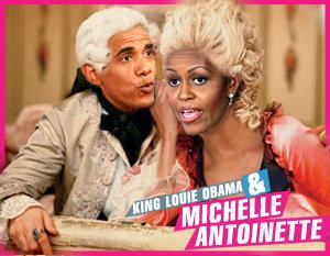 "Michelle ""Marie Antoinette"" Obama"