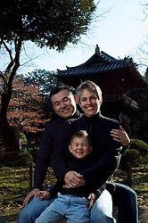 Wataru, Heidi, and Luke Minezaki