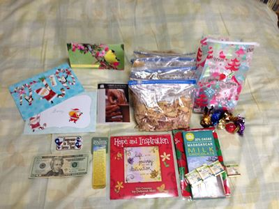 Mom's 2013 Xmas gifts