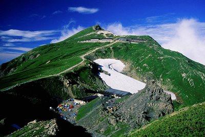 Mt. Shirouma-dake from Maruyama