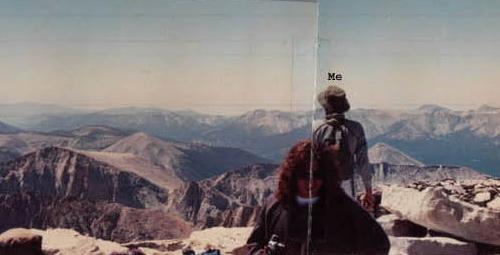 summit of Mt. Whitney