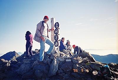 Mt. Ai-no-dake, elev. 3189m, Japan's 4th highest mountain