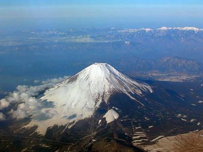 Mt. Fuji, Japan's highest mountain