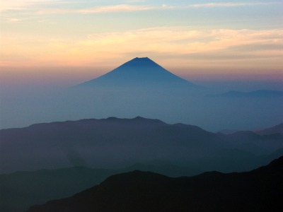 Mt. Fuji at sunrise