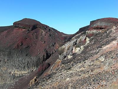 Mt. Fuji crater