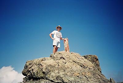 Mt. Shiomi-dake, elev. 3047m, Japan's 16th highest mountain