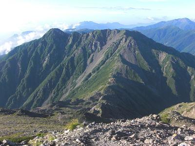 Mt. Notori-dake & Mt. Nishi-notori-dake