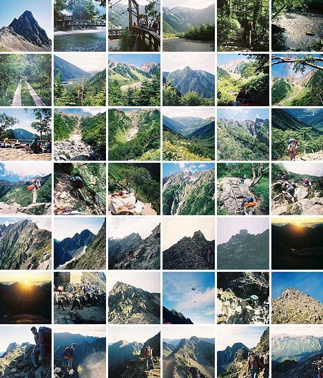 Mt. Oku-hotaka-dake & Mt. Yari-ga-take photos