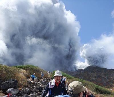 Mt. Ontake eruption