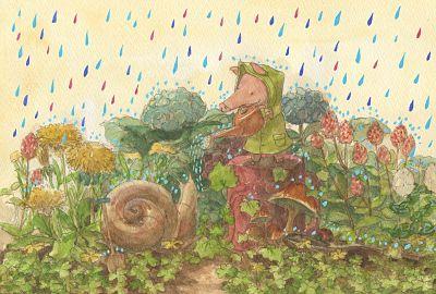 Rain on the Rain