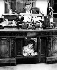 JFK, John Jr., & the Resolute Desk