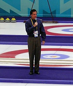 2002 Salt Lake Winter Olympics Organizing Committee President Mitt Romney