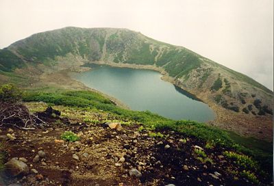 San-no-ike (三ノ池), one of Mt. Ontake-san's 5 crater lakes