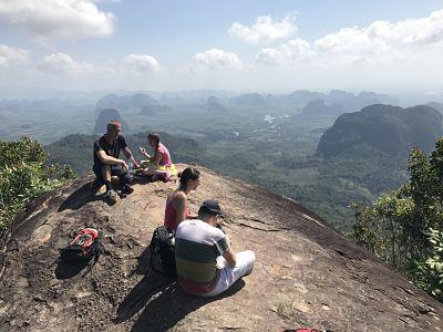 Summit of Ngorn Nak Mountain