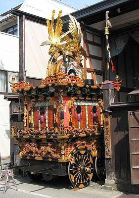 Takayama festival float