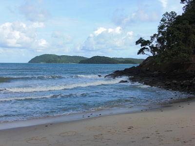 Tengah Beach in Langkawi, Malaysia