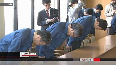 TEPCO president visits Fukushima