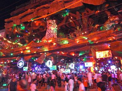 Tiger Live Band bar