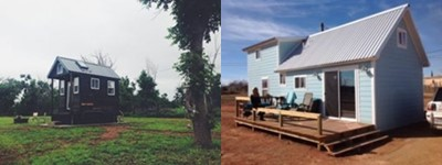 tiny houses in Spur, Texas